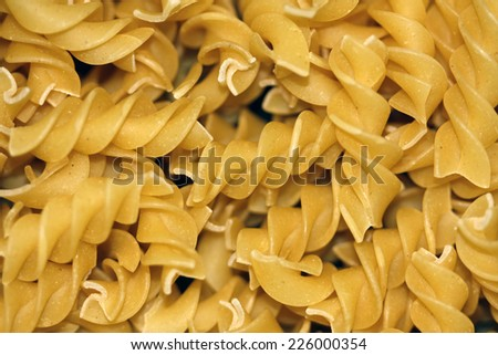 italian pasta (macaroni) background