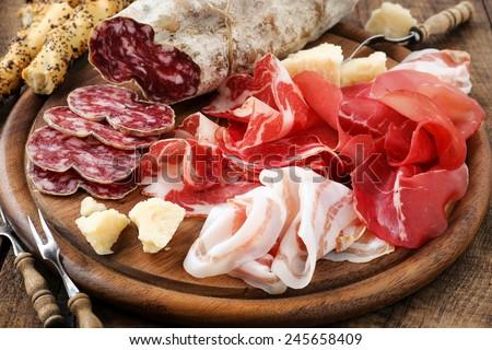stock-photo-italian-salumi-meat-platter-