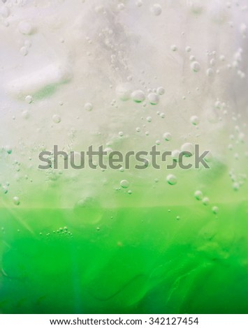 Italian soda soft drink background - stock photo