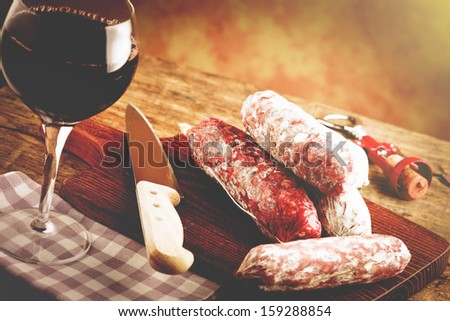 Italian taste - stock photo