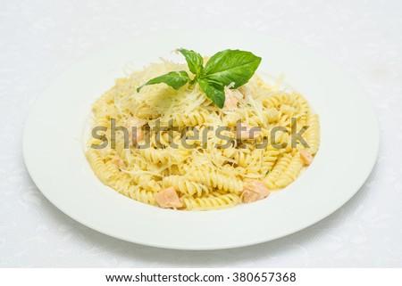 Italian traditional pasta - stock photo