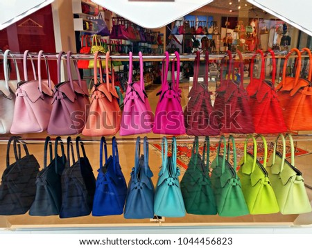 showcase Bags Save Stock Photo (Royalty Free) 1044456823 - Shutterstock