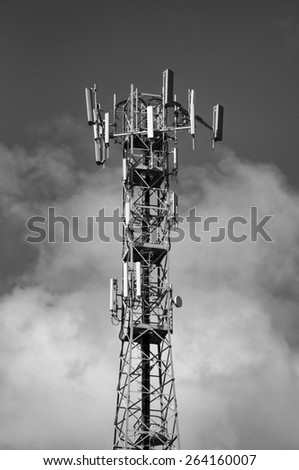 Italy, Communications Tower