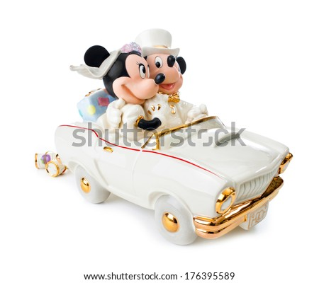 minnie and mickey wedding cake topper italy february 12 2014 minnies stock photo edit now 5936