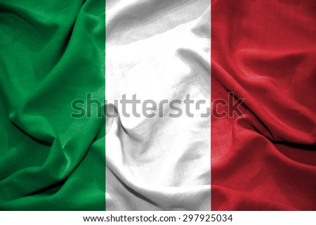 Italy flag. illustration - stock photo