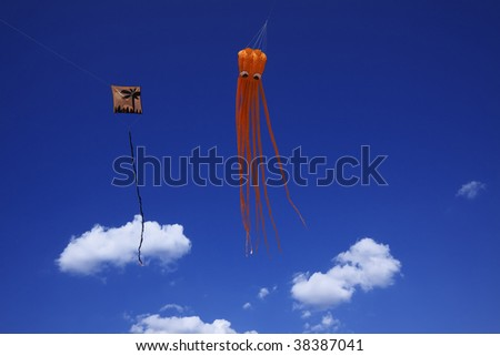 Italy, Rome, Kites competition