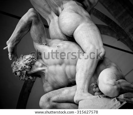 Italy sculpture - stock photo