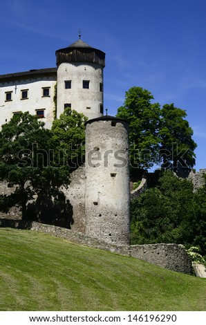 Italy, South Tirol, castle Proesels in Voels am Schlern (Fie Allo Sciliar)