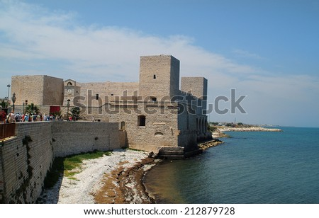 Italy, Staufer castell in Trani