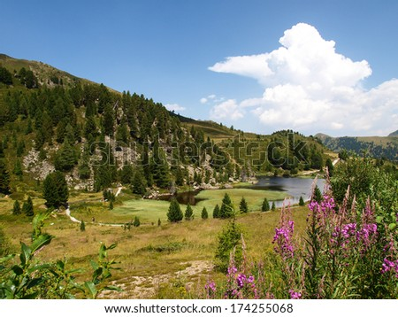 Italy - tours in the Dolomites and grossglockner - stock photo