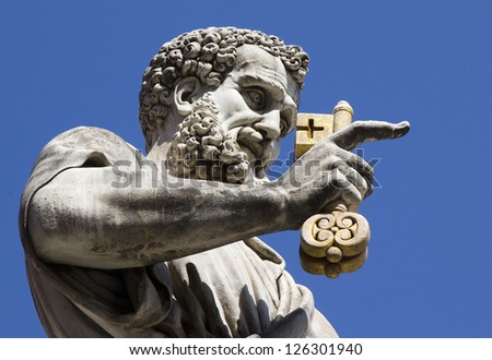 Italy, Vatican, architecture - stock photo
