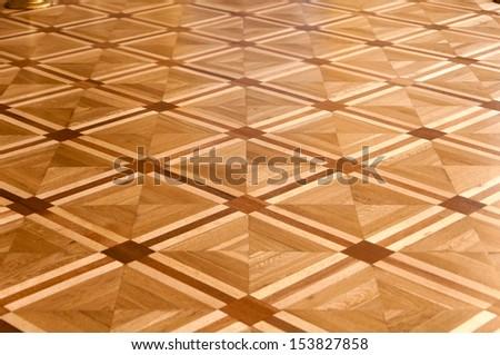 item floor parquet background - stock photo