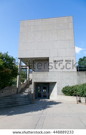 ITHACA, NY, United States - Aug 28, 2011 : Molatt Hall at Cornell University
