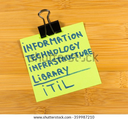 about information technology infrastructure library essay