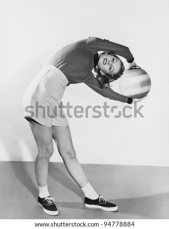 Its a real stretch - stock photo