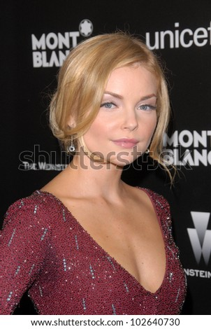 Izabella Miko at the Montblanc Charity Cocktail to Benefit UNICEF, Soho House, West Hollywood, CA. 03-06-10