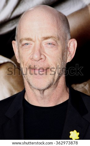 "J.K. Simmons at the Los Angeles premiere of ""The Words"" held at the ArcLight Theatre, Los Angeles, United States on September 4, 2012."
