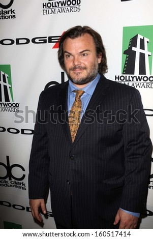 Jack Black at the 17th Annual Hollywood Film Awards Backstage, Beverly Hilton Hotel, Beverly Hills, CA 10-21-13