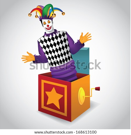 Jack in the Box. Jpg. - stock photo