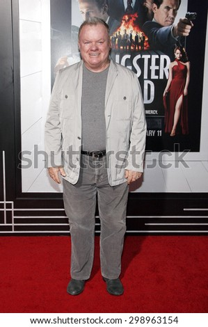 Jack McGee at the Los Angeles premiere of 'Gangster Squad' held at the Grauman's Chinese Theatre in Hollywood on January 7, 2013.   - stock photo