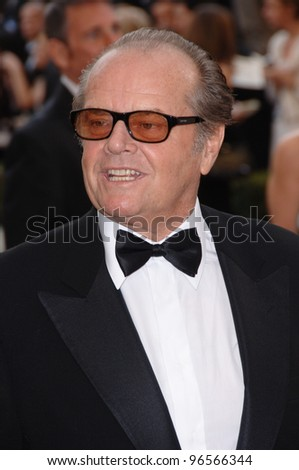JACK NICHOLSON at the 78th Annual Academy Awards at the Kodak Theatre in Hollywood. March 5, 2006  Los Angeles, CA  2006 Paul Smith / Featureflash - stock photo