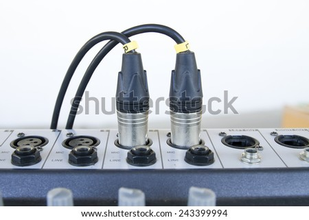 Jack used to the electronic - stock photo