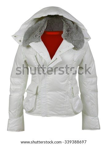 jacket isolated on white