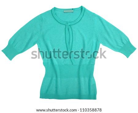 jacket isolated on white background - stock photo