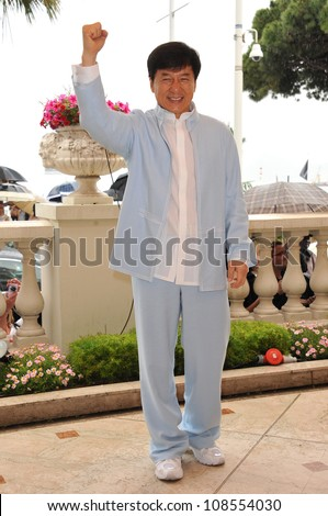 "Jackie Chan at photocall to promote his new movie ""Chinese Zodiac"" at the 65th Festival de Cannes. May 18, 2012  Cannes, France Picture: Paul Smith / Featureflash - stock photo"