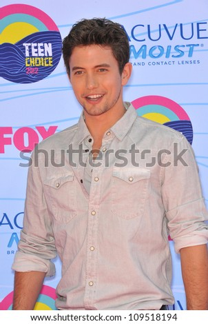 Jackson Rathbone at the 2012 Teen Choice Awards at the Gibson Amphitheatre, Universal City. July 23, 2012  Los Angeles, CA Picture: Paul Smith / Featureflash