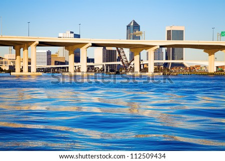 Jacksonville, Florida - seen afternoon time. - stock photo