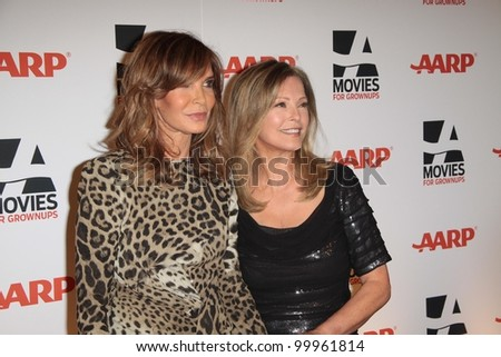 Jaclyn Smith and Cheryl Ladd at AARP Magazine's Movies For Grownups, Beverly Wilshire Hotel, Bevely Hills, CA. 02-07-11