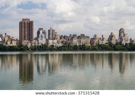 Jacqueline Kennedy Onassis Reservoir in Central Park, NYC