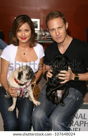 Jacqueline Pinol  at the party to celebrate the 100th Episode of 'Dog Whisperer'. Boulevard 3, Hollywood, CA. 09-17-08 - stock photo