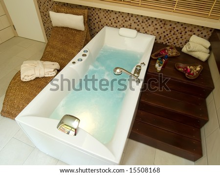 jacuzzi - stock photo