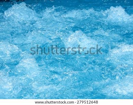 jacuzzi splashes - stock photo