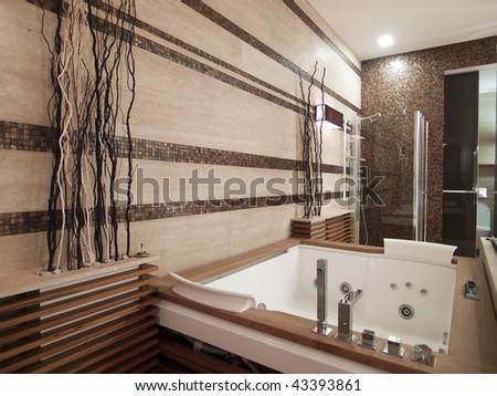 jacuzzi tub - stock photo