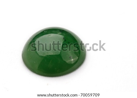 jade Jewel isolated against a white background