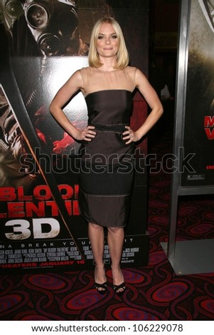 Jaime King  at the Los Angeles Special Screening of 'My Bloody Valentine 3D'. Mann's Chinese Six, Hollywood, CA. 01-08-09