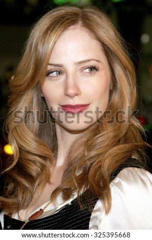 "Jaime Ray Newman at The Warner Brothers World Premiere of ""Rumor Has It"" held at The Grauman's Chinese Theater  in Hollywood, California on December 15, 2005."