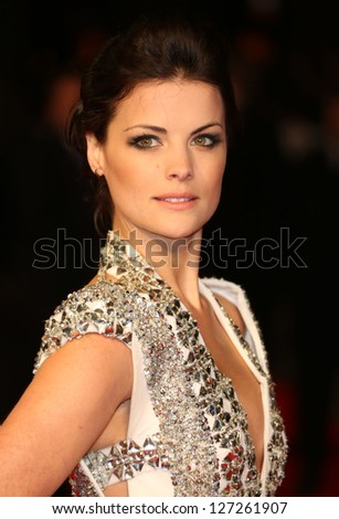 "Jaimie Alexander arriving for premiere of ""The Last Stand"" at the Odeon West End, Leicester Square, London. 22/01/2013 Picture by: Henry Harris"