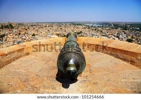 Jaisalmer Fort, Rajasthan, India, Asia