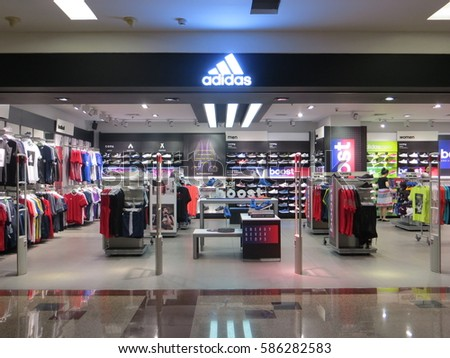 JAKARTA, INDONESIA - February 6, 2017: A retail store at Ciputra Mall.