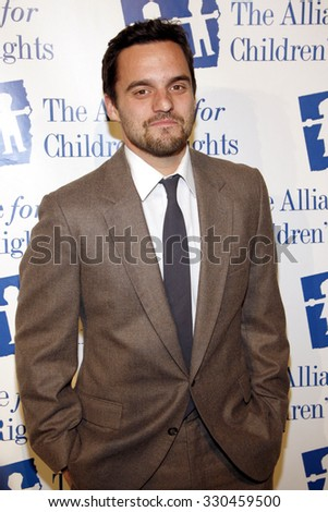Jake Johnson at the Alliance for Children's Rights Dinner Honoring Kevin Reilly held at the Beverly Hilton Hotel in Beverly Hills, USA on March 1, 2012. - stock photo