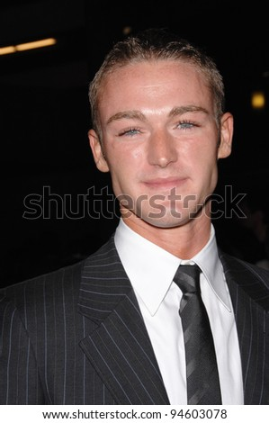 "Jake McLaughlin at the Los Angeles premiere of his new movie ""In the Valley of Elah"". September 14, 2007  Los Angeles, CA Picture: Paul Smith / Featureflash"