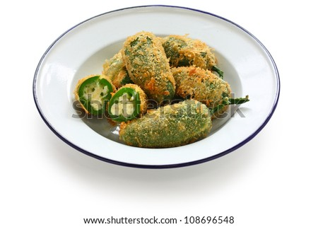 jalapeno poppers - stock photo