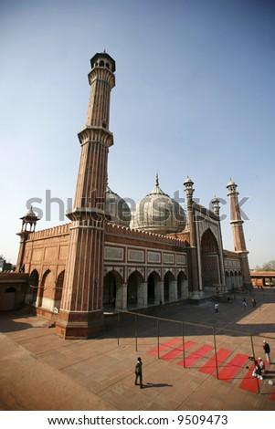 Jama Masjid, Delhi, India - stock photo