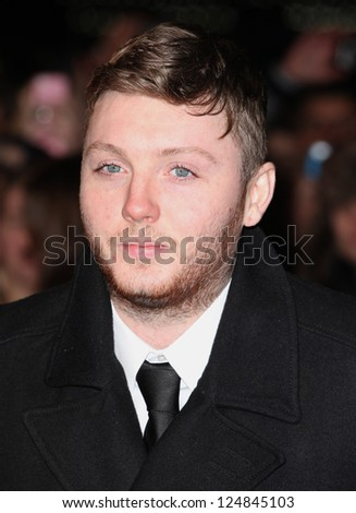 James Arthur arriving for the Django Premiere, at Empire Leicester Square, London. 10/01/2013 Picture by: Alexandra Glen