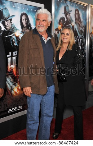 "James Brolin & Barbra Streisand at the Los Angeles premiere of ""Jonah Hex"" at the Cinerama Dome, Hollywood. June 17, 2010  Los Angeles, CA Picture: Paul Smith / Featureflash"