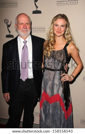 James Burrows and daughter Paris Burrows at the Television Academy Presents An Evening Honoring James Burrows, Leonard H. Goldenson Theater, North Hollywood, CA 10-07-13